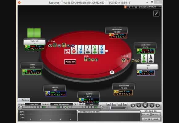 MTT - Revisão de torneio Scoop de $27 - Parte II