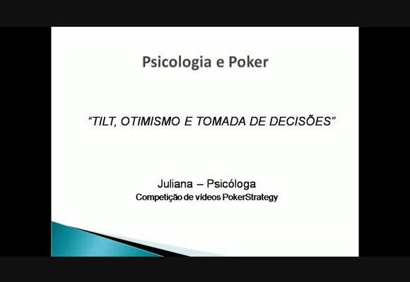 Competição de vídeos: BillaBillu - Psicologia e Poker