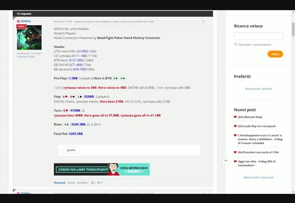 92niko: hand review di qtber