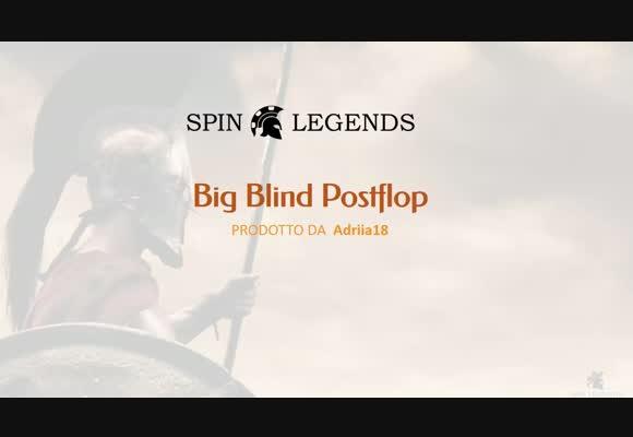Il postflop da Big Blind nei piatti 3h
