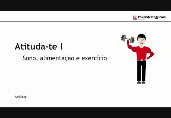 Atituda-te: Sono, alimentação e exercício