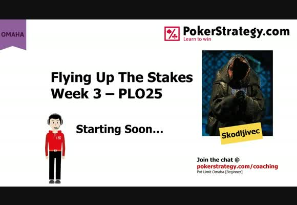 Flying Up The Stakes - Week 3 PLO25