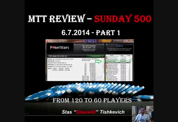 The Sunday 500 Live review - Road to the final table