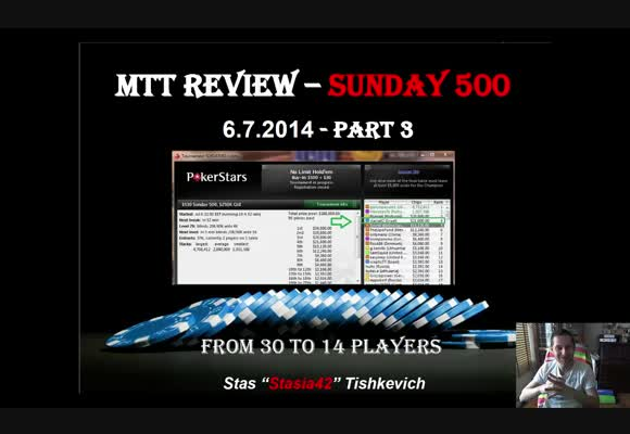 The Sunday 500 Live review - From 30 to 14 players