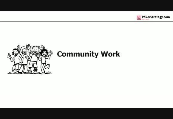 Community Work mit Tackleberry - überwinde die Einsamkeit und optimiere dein Spiel