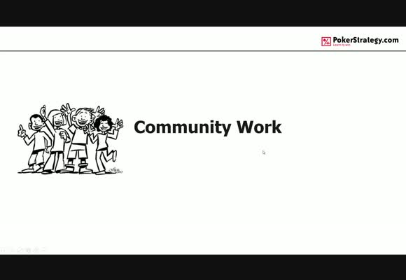 Improve your poker - train with the community