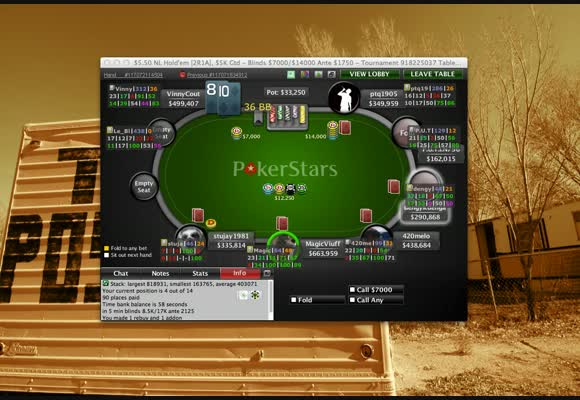MTT - Reta Final de torneio $5 2 Rebuy 1 Add On ao vivo
