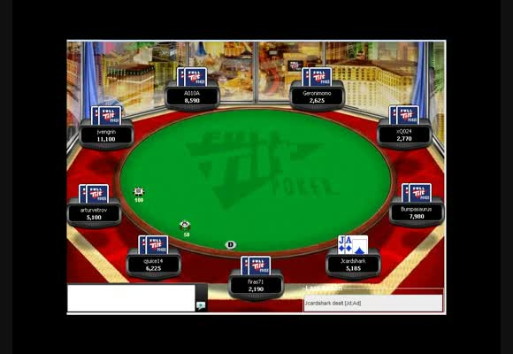 多桌定时比赛(MTT)$50-500满员桌牌局评论视频Ⅰ- 持续下注(译制)