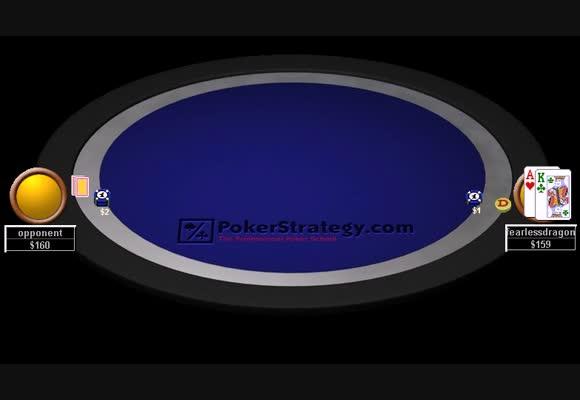 NL200单挑(HU)牌局回顾 - 面对翻牌后激进型玩家1/2