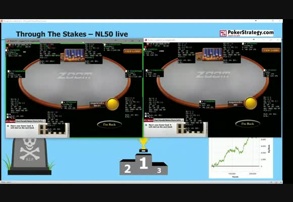 Through The Stakes - NL50 - Live Play