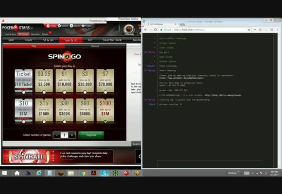 coffeeyay playing $100 spins (run good session)