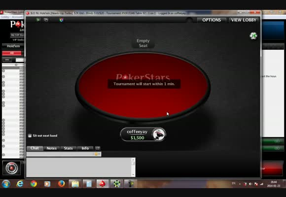 Coffeeyay Plays HU MTTs on PokerStars