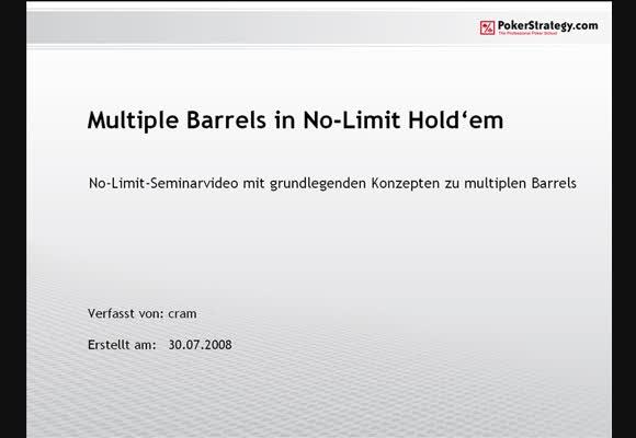 Seminar: Multiple Barrels
