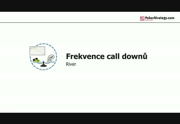 Frekvence calldownů na riveru
