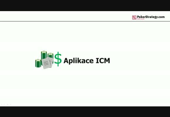 Aplikace ICM