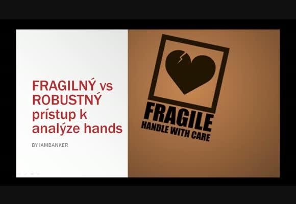 Jak (ne)přistupovat k analýze hands