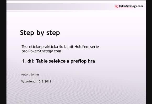 Step by step - 1. část