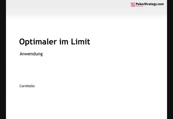 Optimaler im Limit - Anwendung