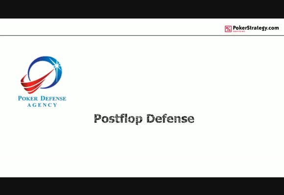 Posflop Defence - Fundamentals of Defending our Equity Shares