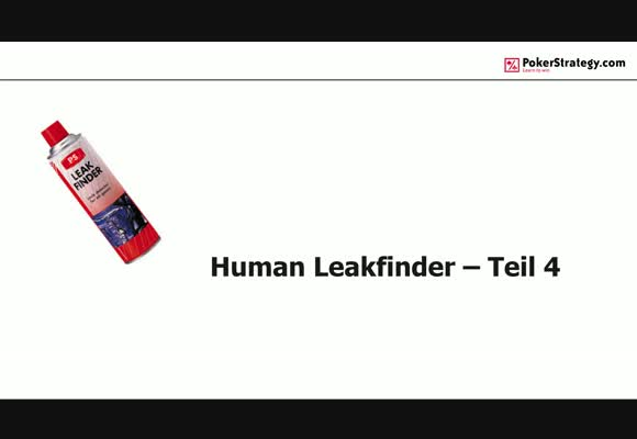 Human Leakfinder - Trainingsplan