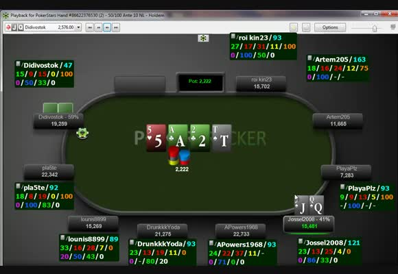 WCOOP Main Event Review - Getting short