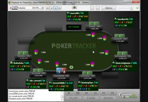 WCOOP Main Event Review - the way to the big final