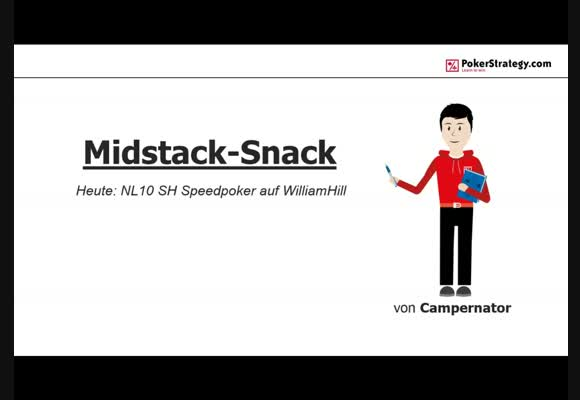 Midstack-Snack | NL10 Speedpoker auf William Hill