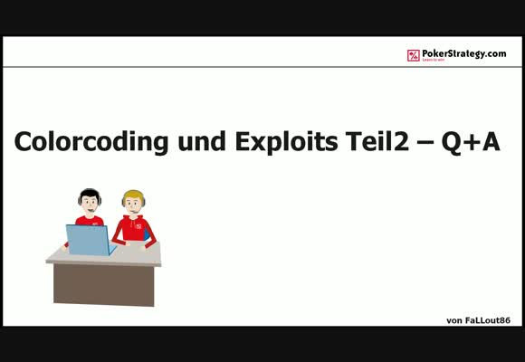 Colorcoding und Exploits - Question and Answer