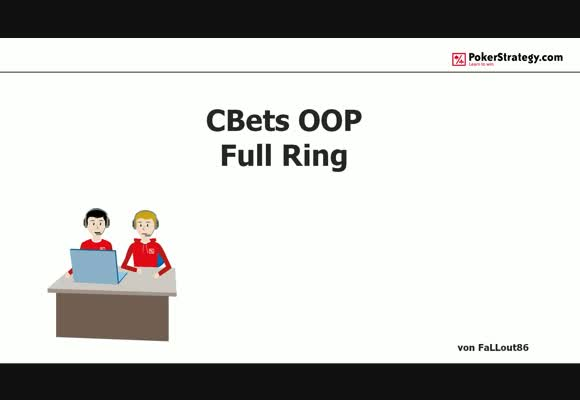 CBets Out of Position (Fullring)