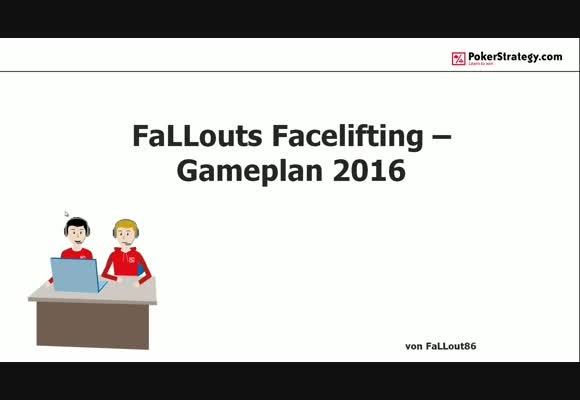 Gameplan 2016/2017 - FaLLouts Facelifting