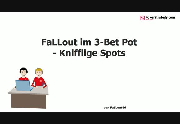 Knifflige Spots - 3-Bet Pot