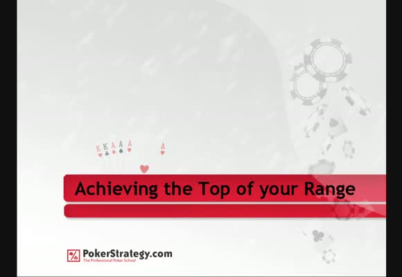 Achieving the Top End of your Range - Part 1 (dubbed)