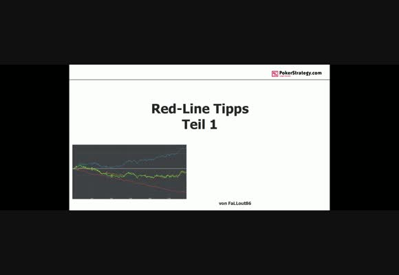 Red Line Tipps Teil 1