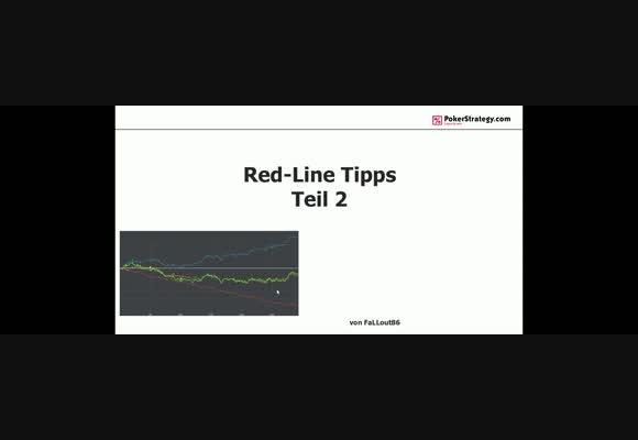 Red Line Tipps Teil 2