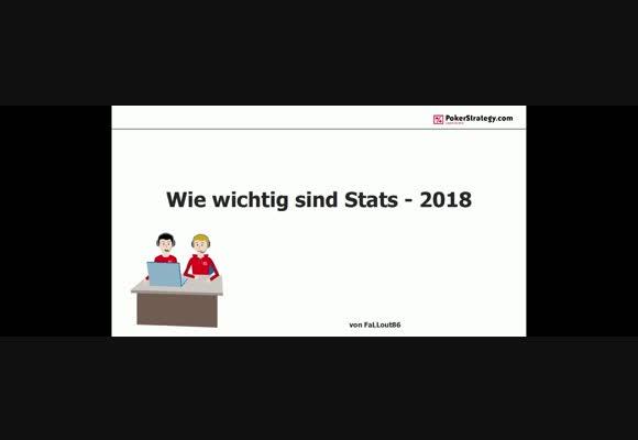 Wie wichtig sind statistische Werte 2018? (1)
