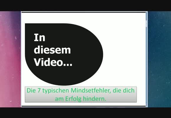 7 typische Mindsetfehler!