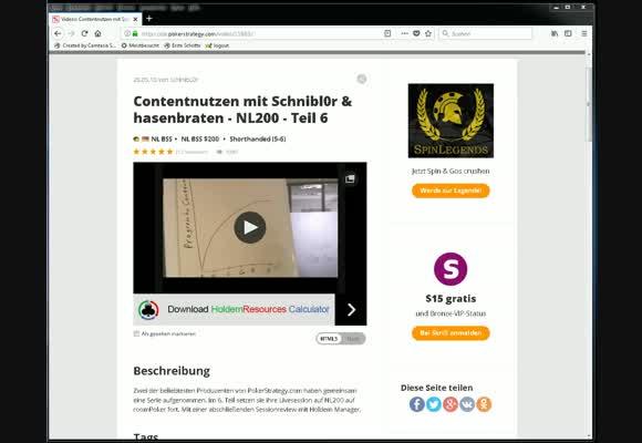Schnibl0r und hasenbraten Reviewed von IronPumper