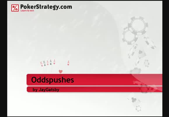 Oddspushes in Sit and Gos