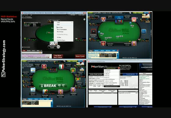 MTT Liveplay - Heads Up