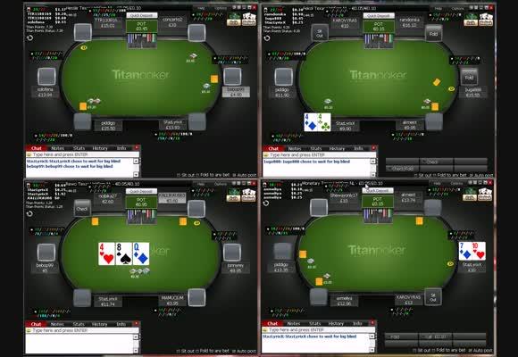 Lowstakes Live auf Titan Poker