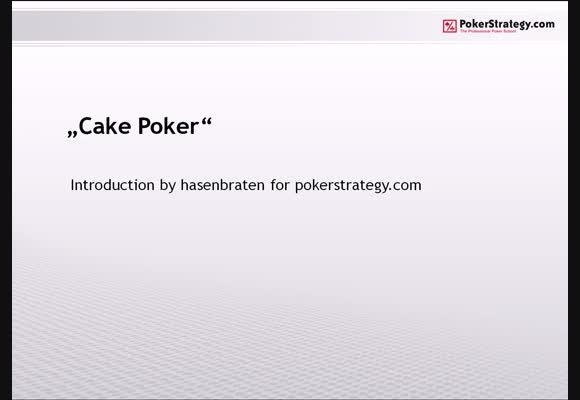 Vorstellung Cake Poker