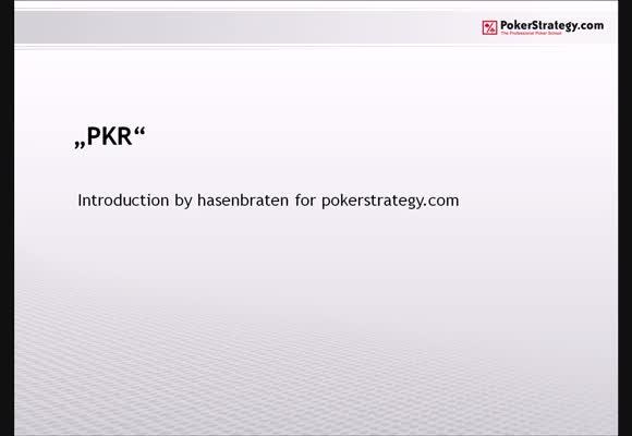 Vorstellung PKR