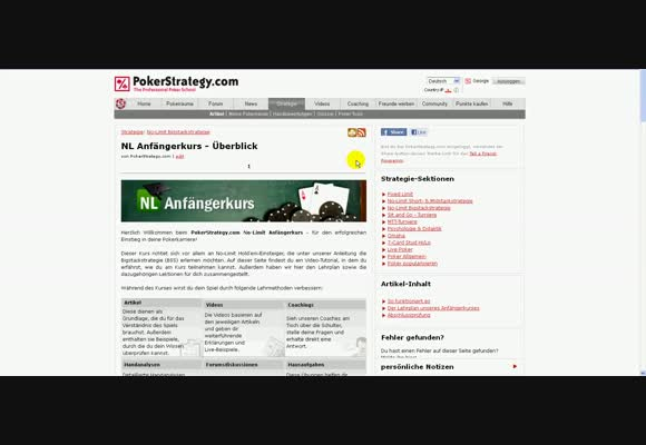 NL Anfängerkurs Tutorial Video