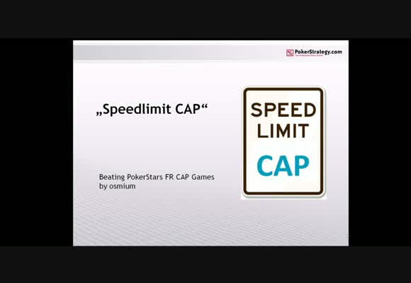Speed Limit: CAP - Teil 1