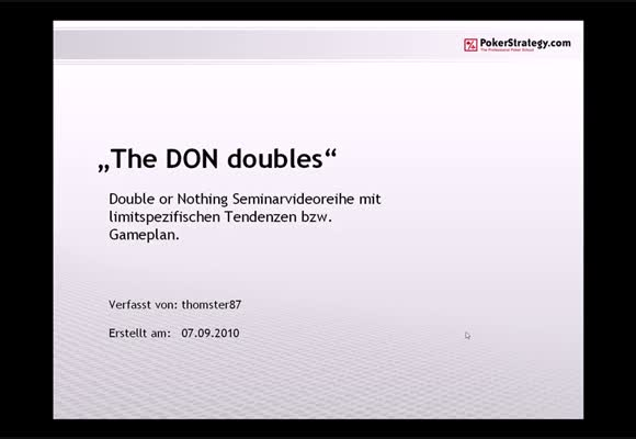 The DON doubles - Part 4