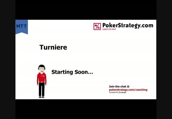 Liveplay - Turnierstrategie für Einsteiger