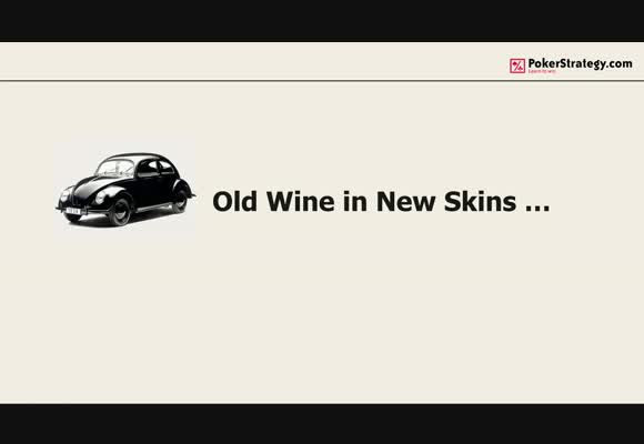 Old wine in new skins - CBets, weak hands & a whale!