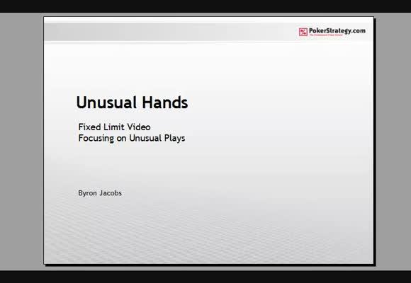 Unusual hands