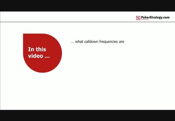 Calldown Frequencies