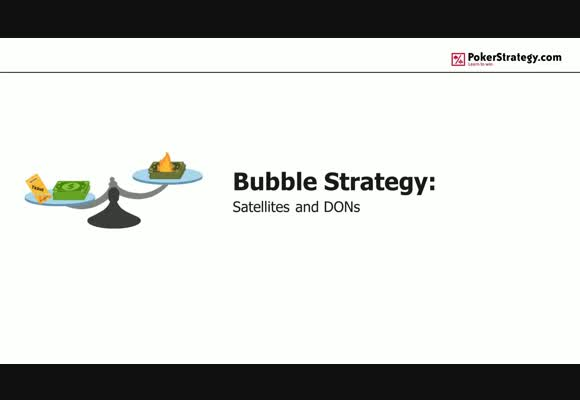 Bubble Strategy (5): Satellites and DONs